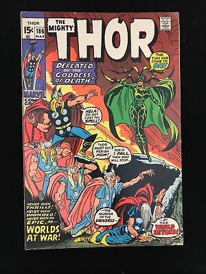 Thor #186 Vg+ Marvel Comics Bronze Age Mighty Thor!