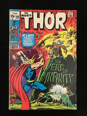 Thor #188 Vg- Marvel Comics Bronze Age Mighty Thor!