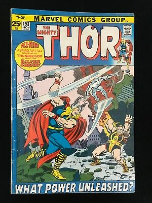 Thor #193 Gd/vg Marvel Comics Bronze Age Mighty Thor!
