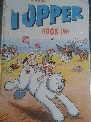 The Topper Book Annual 1971 Vintage Book