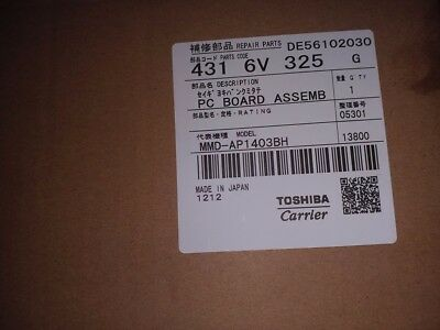 Toshiba AC Outdoor PCB MMD-AP1403BH Air Conditioning.
