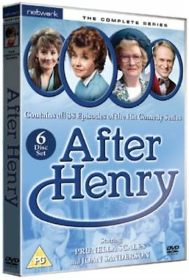 AFTER HENRY the complete series. Prunella Scales. 6 discs box set. New DVD.