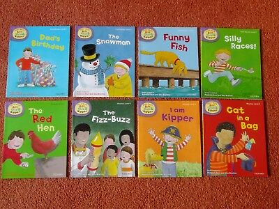 New Oxford Reading Tree Level 2  Biff Chip & Kipper Phonics 8 Books Set