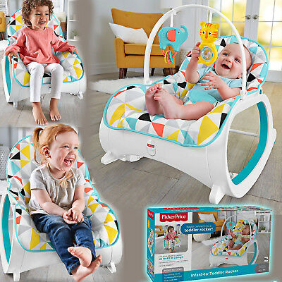 Portable Infant to Toddler Rocker Bouncer Seat Baby Chair Sleeper Swing Toy Play