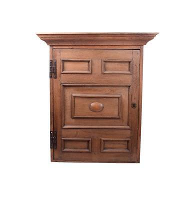 Large Farmhouse Arts & Crafts/Mission Style Hanging Wall Cabinet Cupboard