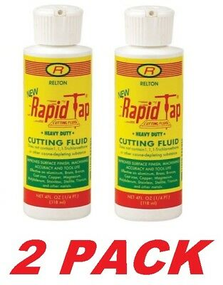 RELTON 04Z-NRT Rapid Tap Cutting and Drilling Fluid, (2 Bottles) 4oz Per Bottle
