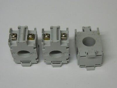 Merlin Gerin 16503 3X 100/5 100A Moulded Case Current Transformer 3X 100/5
