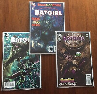 Batgirl #10, 11, 13 (2010) - Stanley Lau Artgerm - 3 Book lot!! Hot