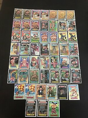 Garbage Pail Kids 15th Series Lot Of 51 Non-die Cut Cards N/M Condition