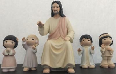 Precious Moments He Shall Lead the Children Into The 21st Century Jesus 127931