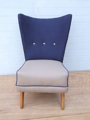 Howard Keith 'Bambino' 1949 reupholstered easy chair mid-century