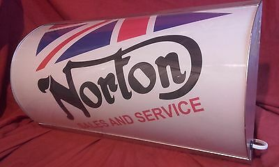 norton,scooter,lightup,sign,illuminated,display,mancave,garage,motorcycle,shed