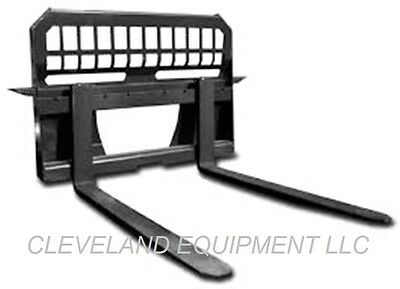 "NEW 48"" PALLET FORKS & FRAME ATTACHMENT Skid Steer Loader Tractor 4000# Capacity"