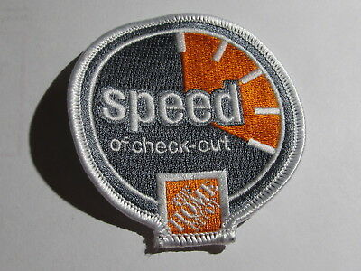 home depot collectibles home speed of check-out patch