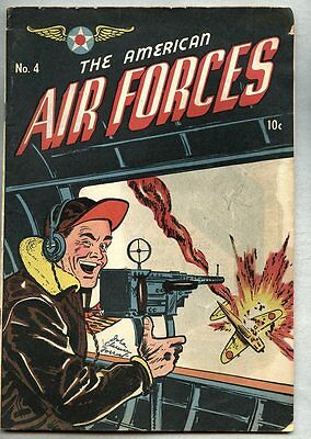 American Air Forces #4-1945 vg+ Japanese War cover