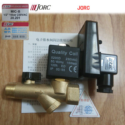 Jorc MIC-B Automatic Electronic Timed Air Compressor Condensate Drain Valve@230V