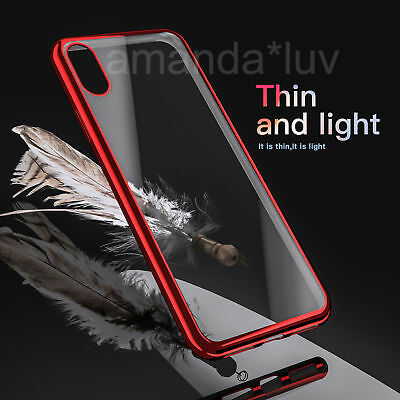 For Apple iPhone X 10 Case Crystal Clear TPU Gel Bumper Back Soft Back Cover AU