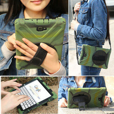 """Shockproof Rotating Heavy Duty Stand Case Cover For iPad 9.7"""" 10.5 2017 2018 6th"""