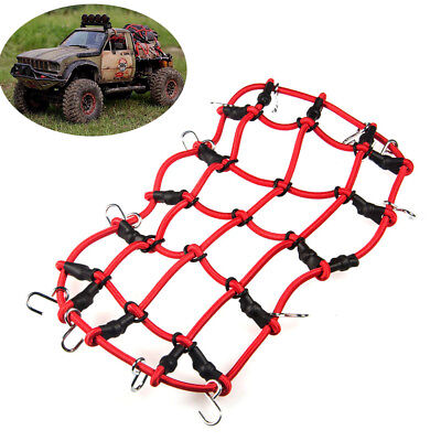 Elastic Luggage Net with Hook For Axial SCX10 TRX-4 RC4WD D90 1/10 RC Crawlers