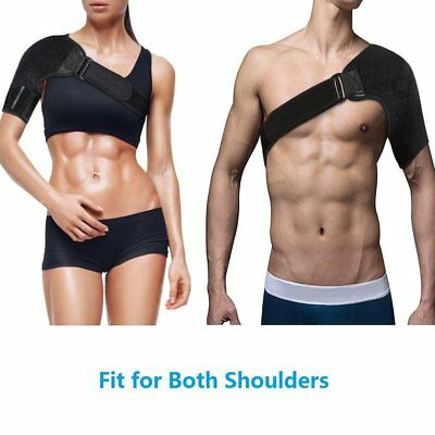 Shoulder Brace Support Strap Wrap Belt Dislocation Neoprene Pain relief US STOCK