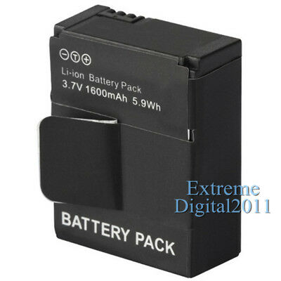 1600mAh Battery For GoPro AHDBT-301 AHDBT-201 Battery For GoPro Hero 3 3+ Camera