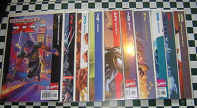 Ultimate X-Men (2001): 1 2 3 4 5 6 7 8 9 10 RUN ~ 10 books ~ Lot C16-1E