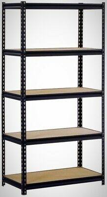 Edsal 72 H X 36 W X 18 In D 5-Shelf Steel Commercial Shelving Unit New Home