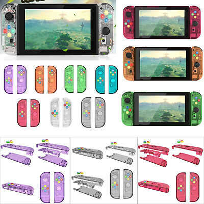 2pcs Housing Shell Case Protective Cover for Nintendo Switch Controller Joy-Con