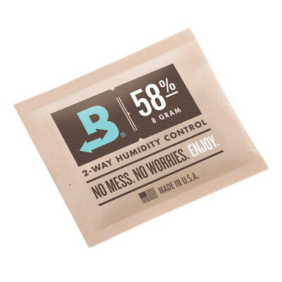 Boveda 58% RH 8 gram Humidipak - 3 Pack - 2-way Humidity Control (8g) New RM24