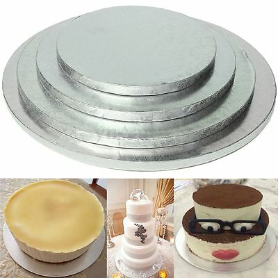 Round Cake Thick Drum Board Stand Holder Base F. Wedding Birthday Party Carnival