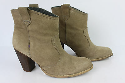Boots Booties Andre Suede Beige Sand T 40 Be