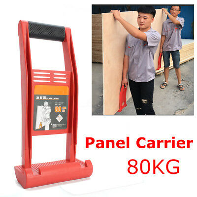 1/2Pcs Grass Wood Panel Carrier Lifter Handler ABS 80kg Load Panel Carry Handle