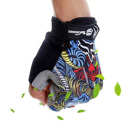 Popular Outdoor Classic HALF FINGER Gloves Cycling Bicycle Bike Gel Gloves