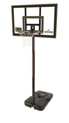 NEW PRO Portable Basketball System Slam Stand Hoop Height Adjustable Ring