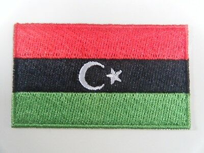 Libya Country Flag Embroidered Patch T4