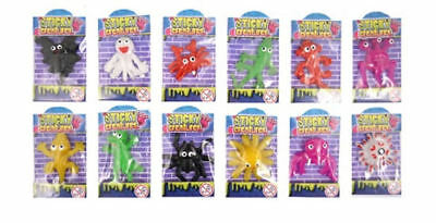 STICKY ALIEN CATAPULT - Pinata Toy Loot/Party Bag Fillers Kids