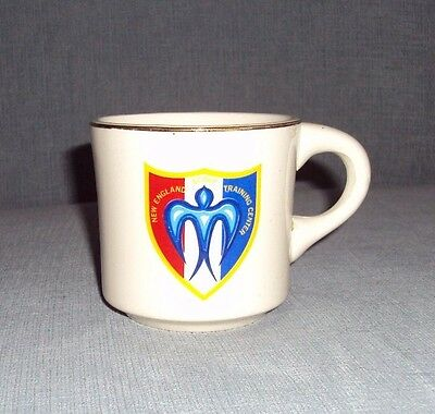 VINTAGE BOY SCOUTS MUG New England Scout Training Center Coffee Cup BSA