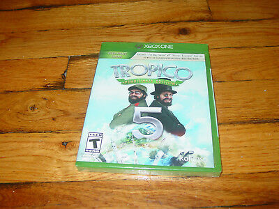 Xbox One Tropico 5 Penultimate Edition (New Factory Sealed!!!)