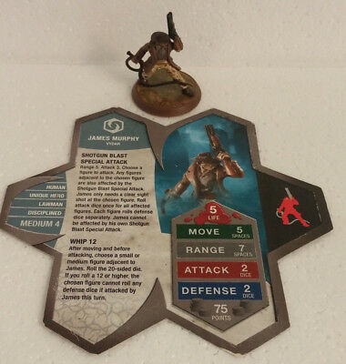 James Murphy Heroscape Wave 4 Zanafor's Discovery With Card