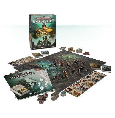 Warhammer Underworlds: Shadespire English Games workshop Age of Sigmar Brand New