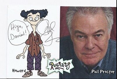 Phil Proctor Auto Autographed 4X6 Photo Signed Picture W/Coa Rugrats Toy Story