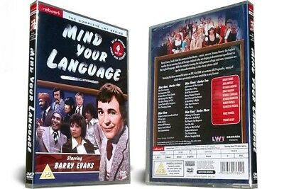MIND YOUR LANGUAGE the complete series 1 2 & 3. 4 disc box set. New DVD.