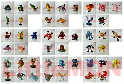 Pokemon Figures 4-5cm Gold and Silver #001-250