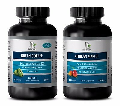 Weight loss natural supplements - GREEN COFFEE EXTRACT – AFRICAN MANGO COMBO