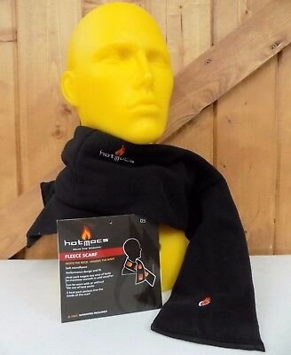 Thermal Fleece Scarf ~ Warmer Pack Heated ~  Winter Neck Warmers ~ NEW