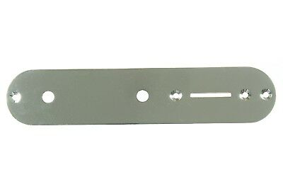 Telecaster chrome control plate standard size or drilled for CTS potentiometers