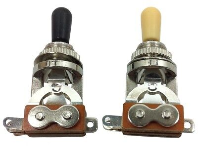 3 way toggle switch cream or black tip for Gibson style guitars