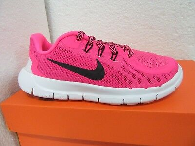 MSRP 68.00 Nike Free 5.0 (PS) Hot Pink Girls Shoe Size US 1Y 725115 600