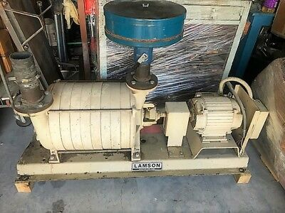10 HP Lamson  Blower == Skid Mounted = Good Condition