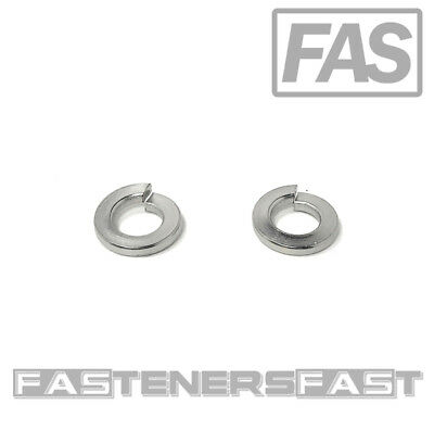 (100) 5/16 Stainless Steel Medium Lock Washers (100 Pieces) Fast Free Shipping